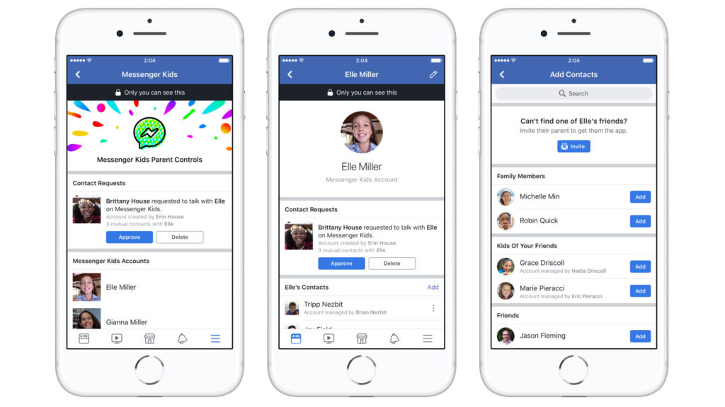 Facebook lança Messenger Kids