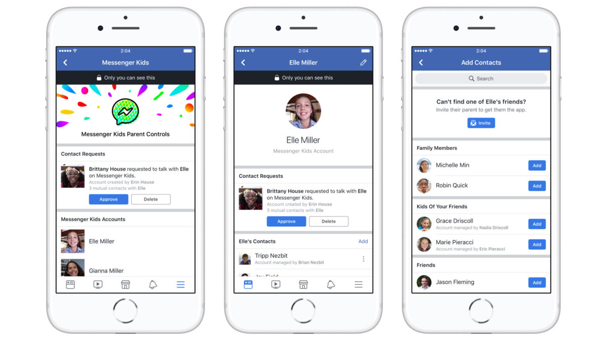 Facebook lança Messenger Kids, um app de bate-papo para crianças