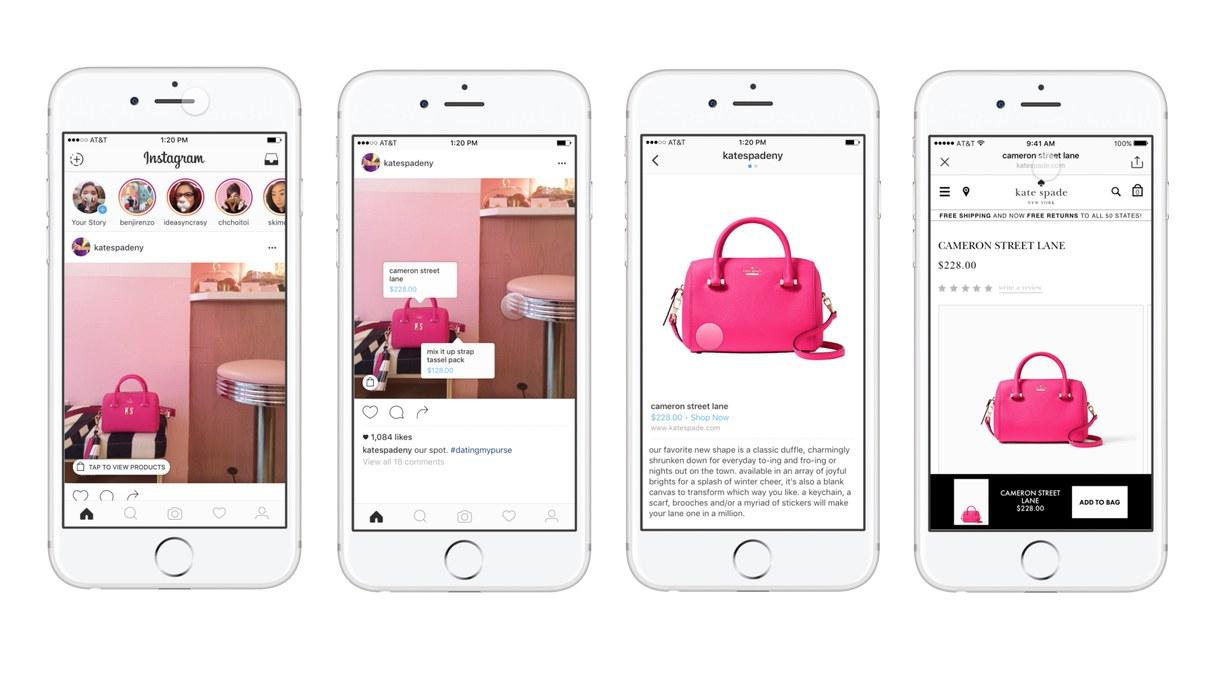 Perfis comerciais no Instagram ganham recurso de compras